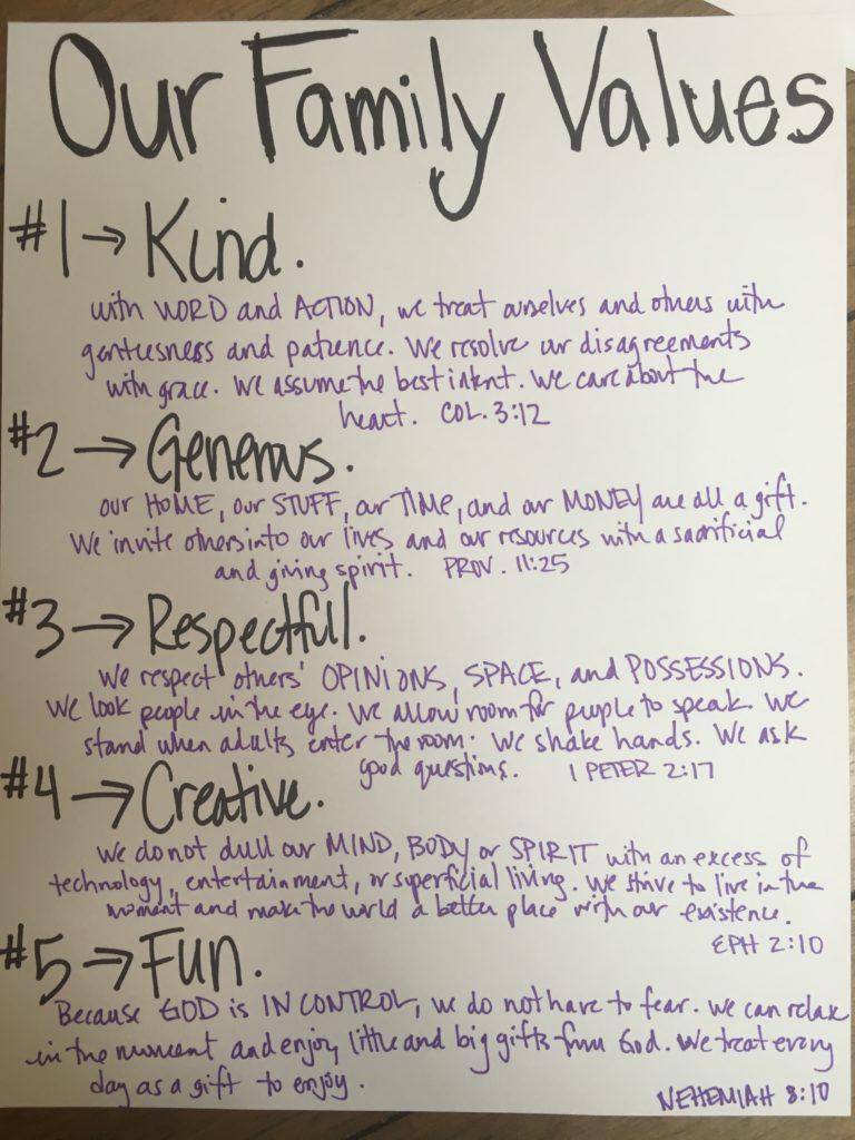 Rules v. Values
