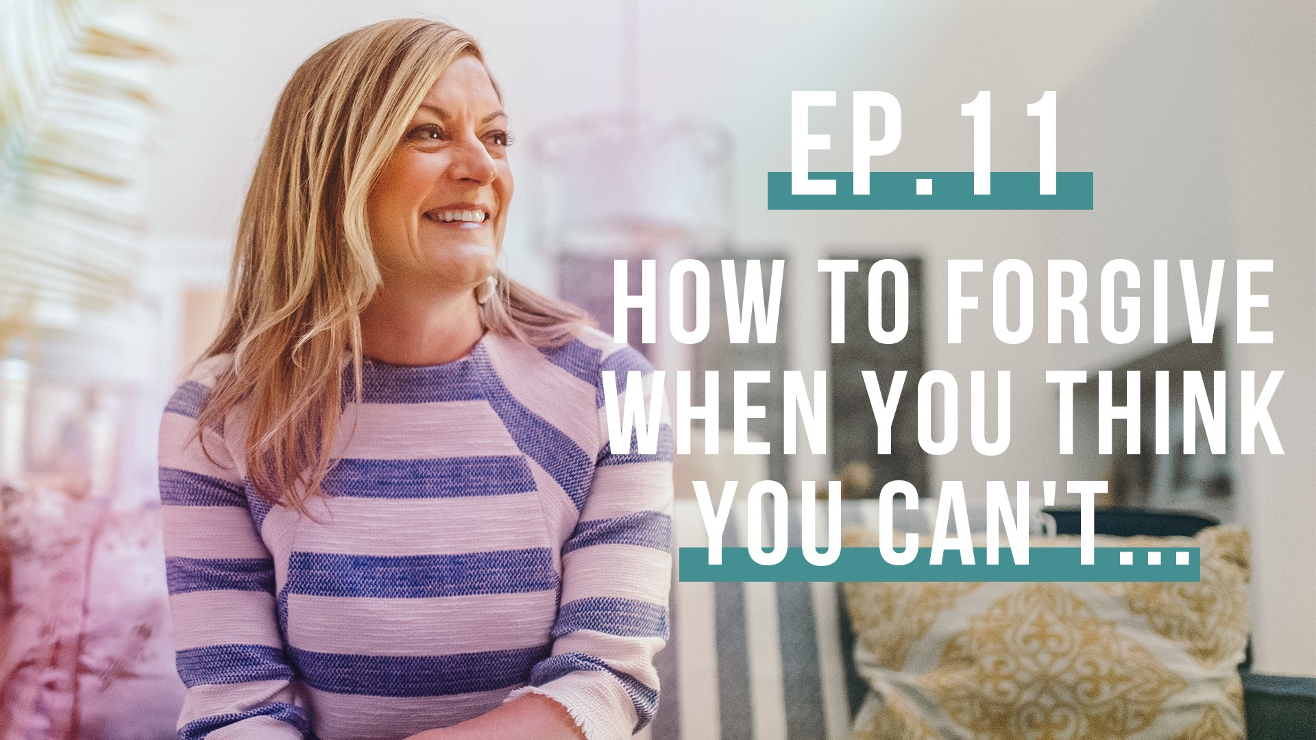 How to Forgive When You Think You Can't…guest Jean Paul Samputu (Let's Be Real, Ep. 11)